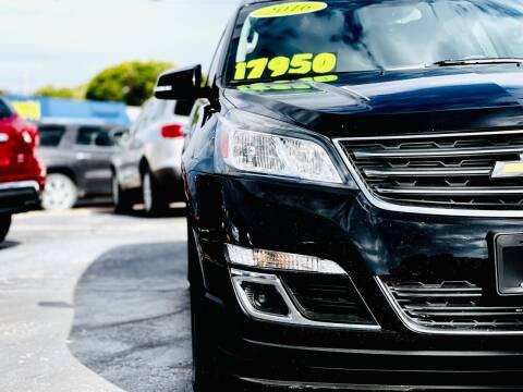 2016 Chevrolet Traverse for sale at Island Auto in Grand Island NE