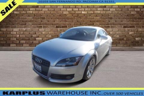 2008 Audi TT for sale at Karplus Warehouse in Pacoima CA