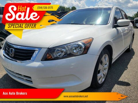 2008 Honda Accord for sale at Ace Auto Brokers in Charlotte NC