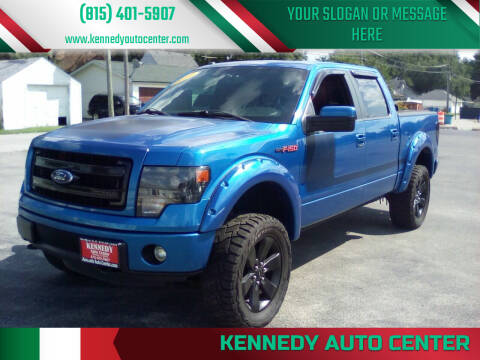 2013 Ford F-150 for sale at KENNEDY AUTO CENTER in Bradley IL