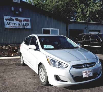 2016 Hyundai Accent for sale at QS Auto Sales in Sioux Falls SD