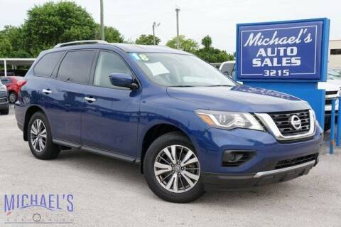 2018 Nissan Pathfinder for sale at Michael's Auto Sales Corp in Hollywood FL