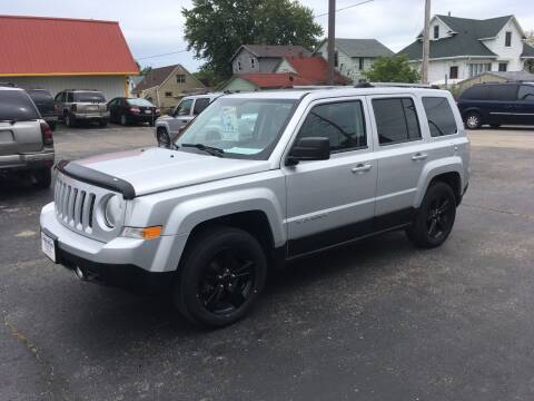2013 Jeep Patriot for sale at AUTO PLUS INC in Marinette WI