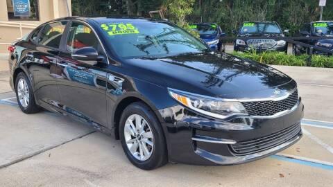 2016 Kia Optima for sale at Dunn-Rite Auto Group in Longwood FL
