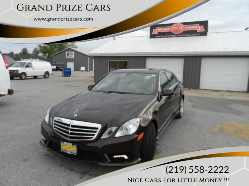 2011 Mercedes-Benz E-Class for sale at Grand Prize Cars in Cedar Lake IN