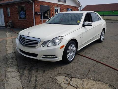 2012 Mercedes-Benz E-Class for sale at L&M Auto Import in Gastonia NC
