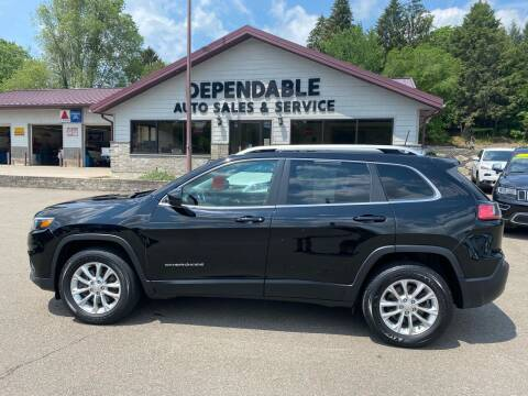 2019 Jeep Cherokee for sale at Dependable Auto Sales and Service in Binghamton NY