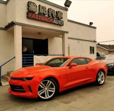 2016 Chevrolet Camaro for sale at Fastrack Auto Inc in Rosemead CA