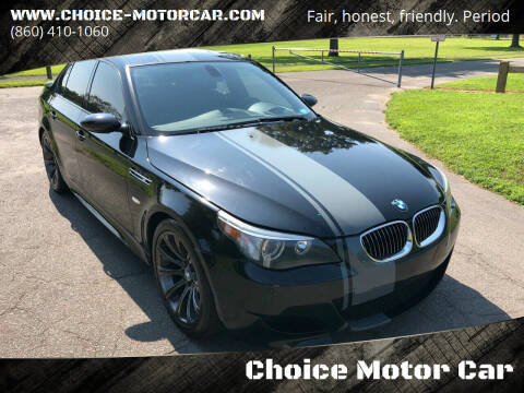 2006 BMW M5 for sale at Choice Motor Car in Plainville CT