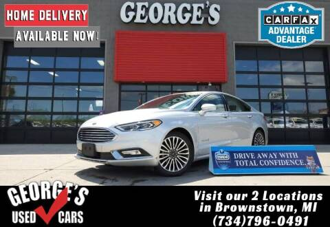 2018 Ford Fusion Hybrid for sale at George's Used Cars - Telegraph in Brownstown MI