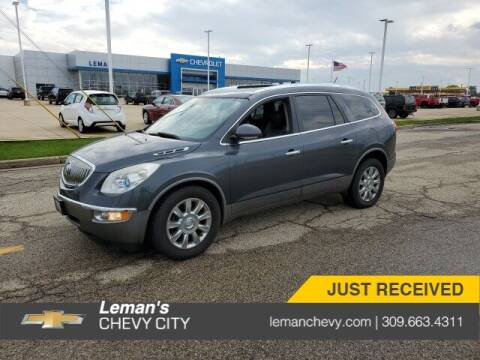2011 Buick Enclave for sale at Leman's Chevy City in Bloomington IL