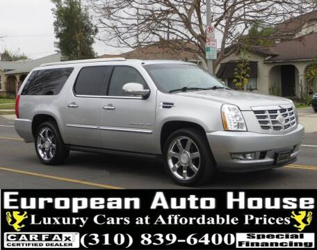 2011 Cadillac Escalade ESV for sale at European Auto House in Los Angeles CA