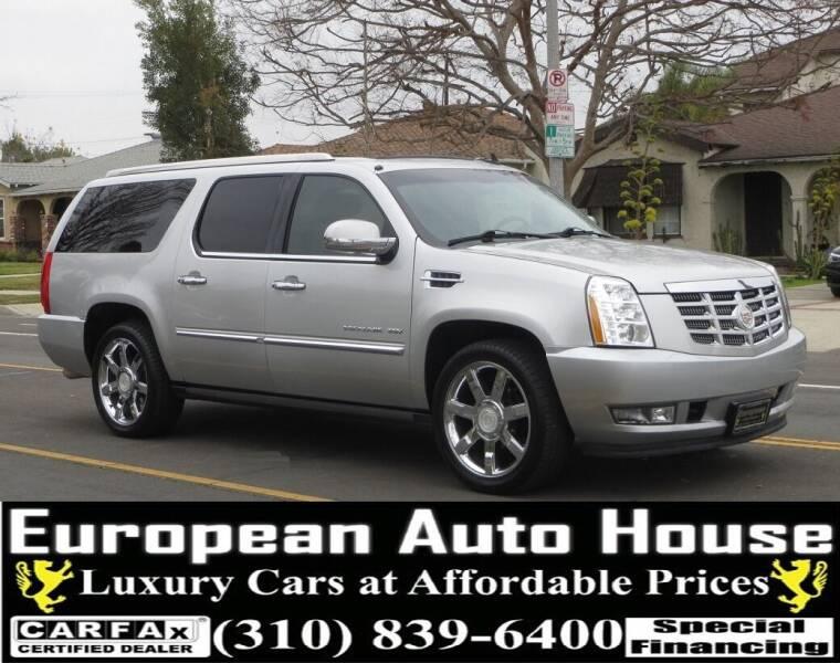 2011 Cadillac Escalade ESV for sale at European Auto House in Los Angeles CA
