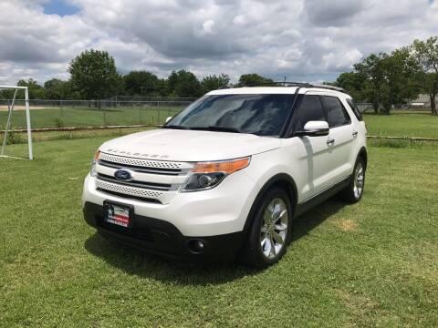 2012 Ford Explorer for sale at LA PULGA DE AUTOS in Dallas TX