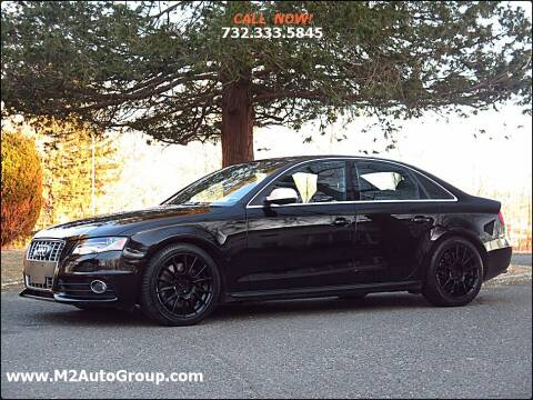 2012 Audi S4 for sale at M2 Auto Group Llc. EAST BRUNSWICK in East Brunswick NJ