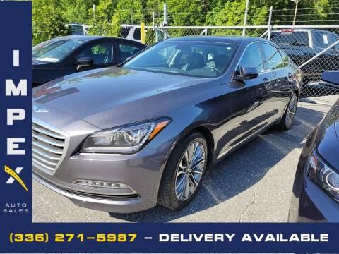 2016 Hyundai Genesis for sale at Impex Auto Sales in Greensboro NC