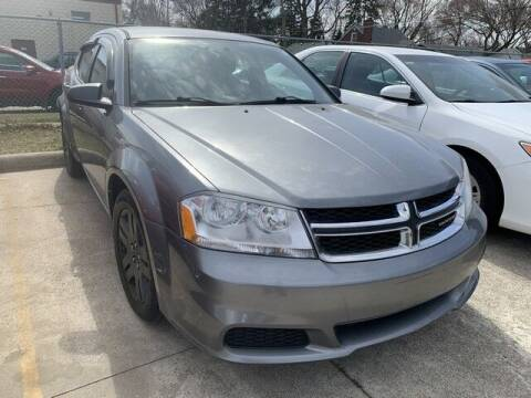 2013 Dodge Avenger for sale at Martell Auto Sales Inc in Warren MI