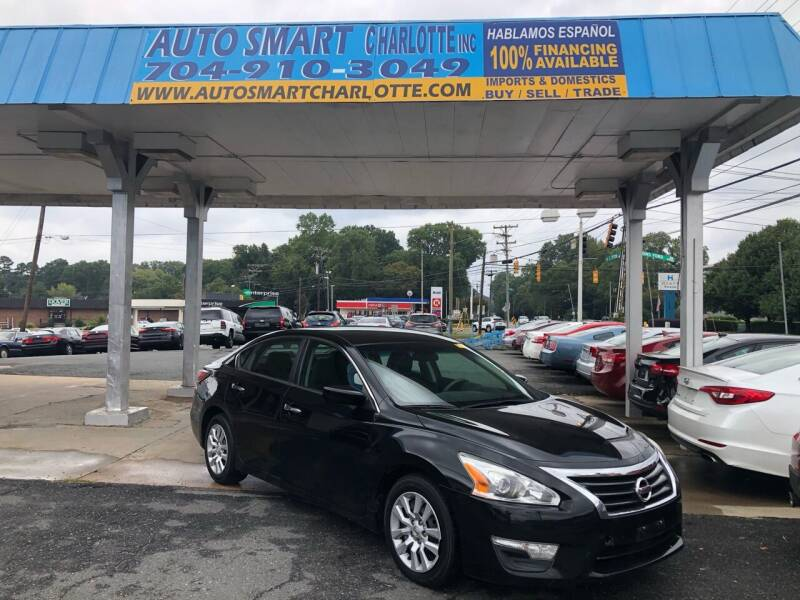 2015 Nissan Altima for sale at Auto Smart Charlotte in Charlotte NC