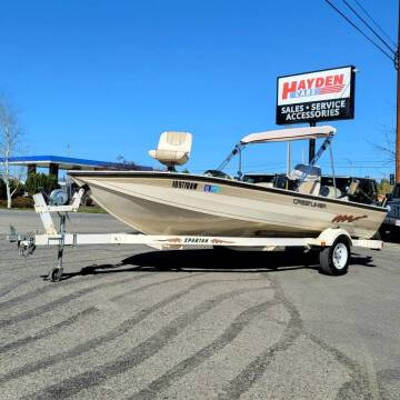 1996 Crestliner 1800 Pro for sale at Hayden Cars in Coeur D Alene ID