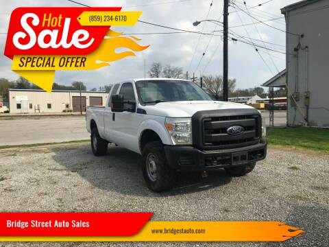 2015 Ford F-250 Super Duty for sale at Bridge Street Auto Sales in Cynthiana KY