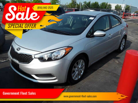2016 Kia Forte for sale at Government Fleet Sales in Kansas City MO