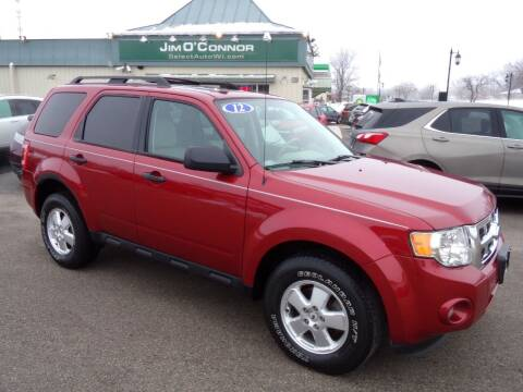 2012 Ford Escape for sale at Jim O'Connor Select Auto in Oconomowoc WI