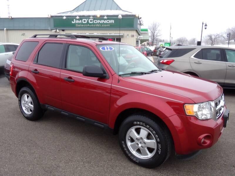 2012 Ford Escape for sale at Jim O'Connor Select Auto in Oconomowoc WI