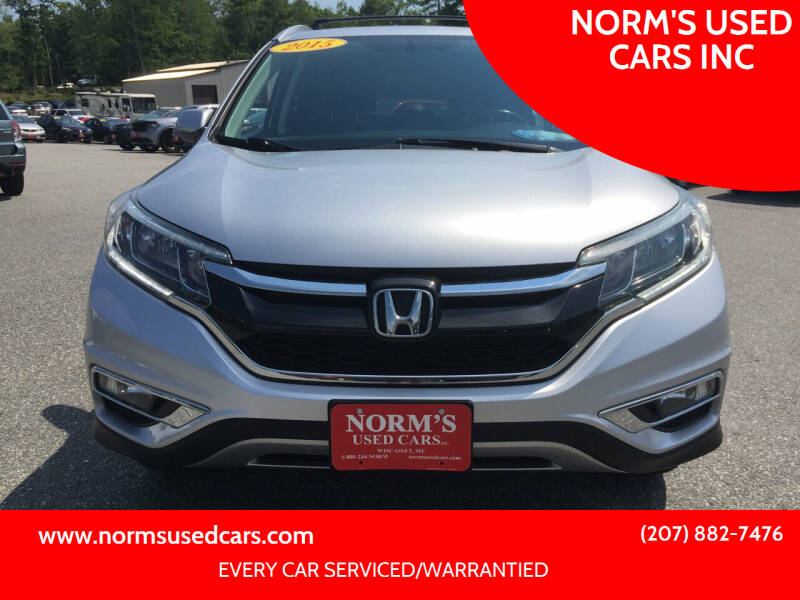 2015 Honda CR-V for sale at NORM'S USED CARS INC in Wiscasset ME