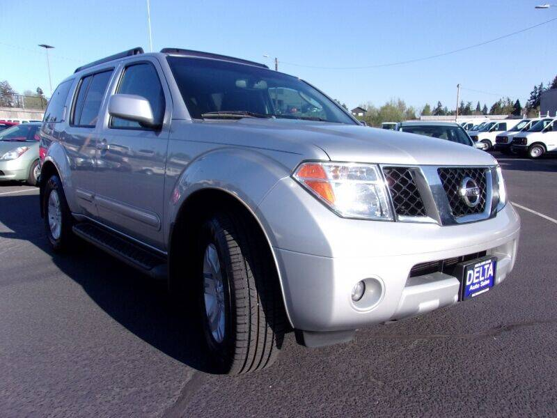 2005 Nissan Pathfinder for sale at Delta Auto Sales in Milwaukie OR