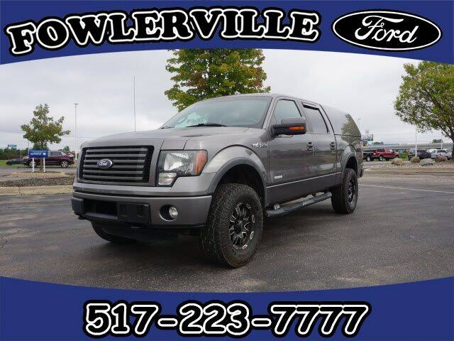 2011 Ford F-150 for sale at FOWLERVILLE FORD in Fowlerville MI