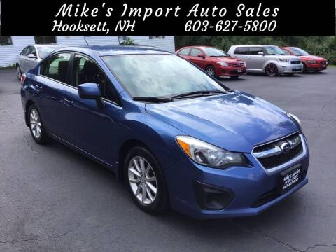 2014 Subaru Impreza for sale at Mikes Import Auto Sales INC in Hooksett NH