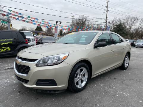 2014 Chevrolet Malibu for sale at WOLF'S ELITE AUTOS in Wilmington DE