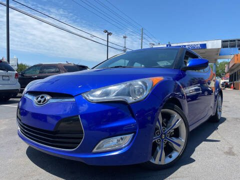 2012 Hyundai Veloster for sale at LATINOS MOTOR OF ORLANDO in Orlando FL