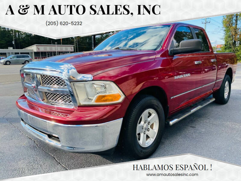 2012 RAM Ram Pickup 1500 for sale at A & M Auto Sales, Inc in Alabaster AL