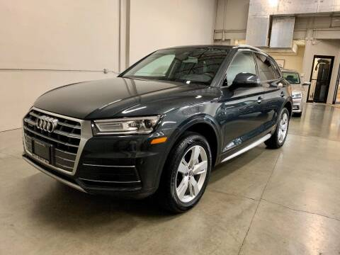 2018 Audi Q5 for sale at TOWNE AND COUNTRY MOTORS in Woodinville WA