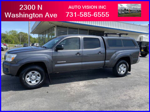 2013 Toyota Tacoma for sale at Auto Vision Inc. in Brownsville TN