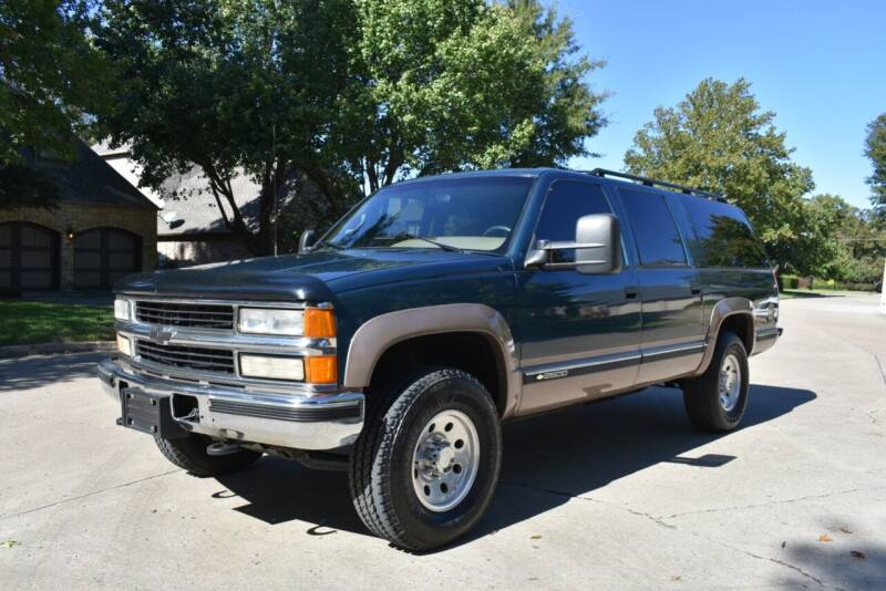 1995 Chevrolet Suburban for sale at A Motors in Tulsa OK
