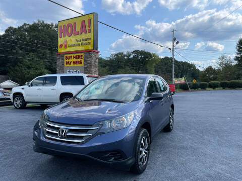 2013 Honda CR-V for sale at No Full Coverage Auto Sales in Austell GA