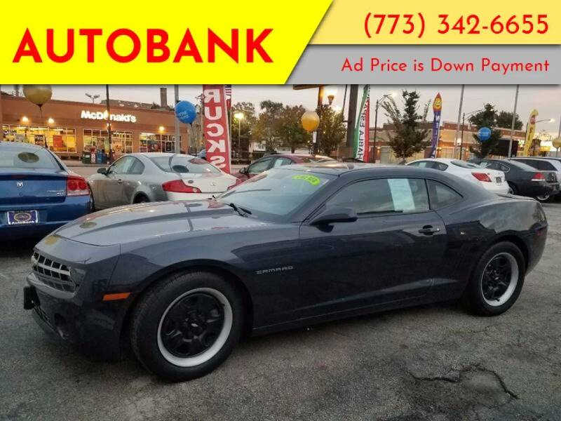 2013 Chevrolet Camaro for sale at AutoBank in Chicago IL