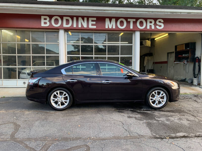 2012 Nissan Maxima for sale at BODINE MOTORS in Waverly NY
