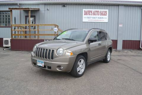 2008 Jeep Compass for sale at Dave's Auto Sales in Winthrop MN