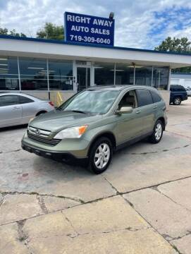 2007 Honda CR-V for sale at Right Away Auto Sales in Colorado Springs CO