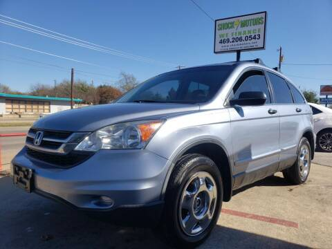 2010 Honda CR-V for sale at Shock Motors in Garland TX