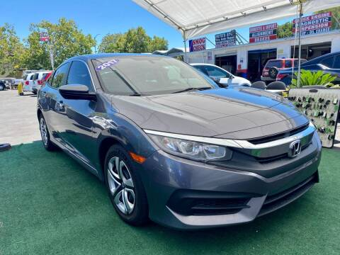 2017 Honda Civic for sale at San Jose Auto Outlet in San Jose CA