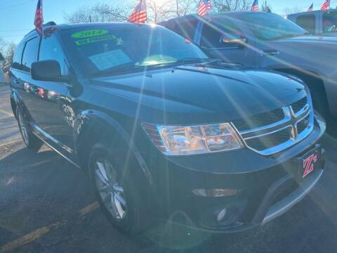 2014 Dodge Journey for sale at Zs Auto Sales in Kenosha WI