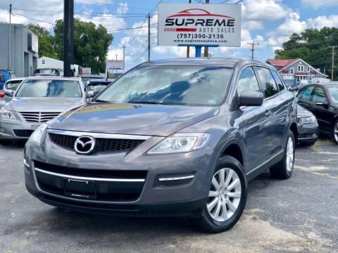 2007 Mazda CX-9 for sale at Supreme Auto Sales in Chesapeake VA