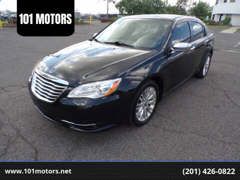 2011 Chrysler 200 for sale at 101 MOTORS in Hasbrouck Heights NJ