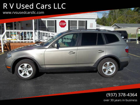2007 BMW X3 for sale at R V Used Cars LLC in Georgetown OH