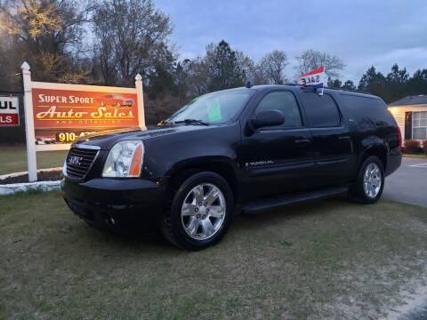 2007 GMC Yukon XL for sale at Super Sport Auto Sales in Hope Mills NC