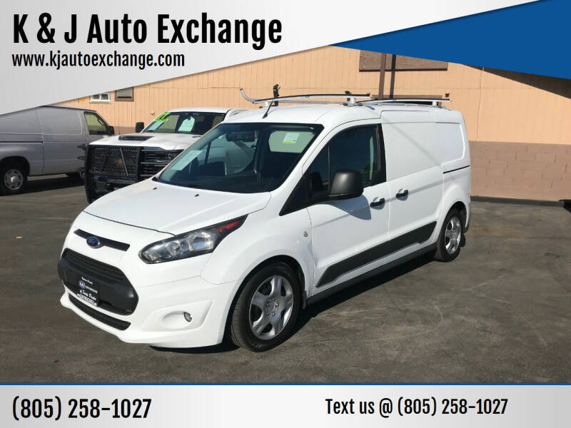 2015 Ford Transit Connect Cargo for sale at K & J Auto Exchange in Santa Paula CA